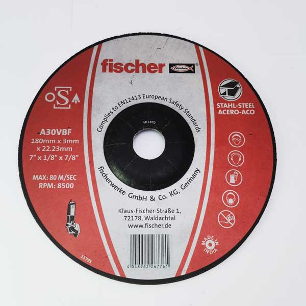 cutting disc 7 inch