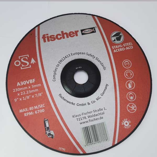 cutting disc 9 inch